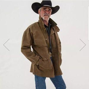 Filson Tin Cloth Packer Field Coat wool Liner 50